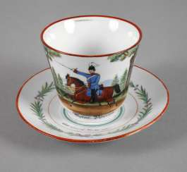Reservists Cup Of Body Of Dragoons Of Baden
