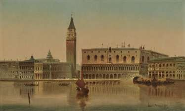 Karl Kaufmann, Venice - View of the Doge's Palace and the Piazzetta