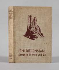 Leni Riefenstahl, the fight in the snow and ice