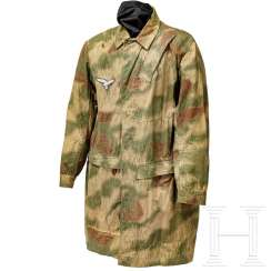 "Paratrooper blouse, so-called ""bone bag"", 3rd model in swamp camouflage"