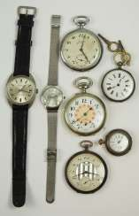 Lot Of Pocket Watches.