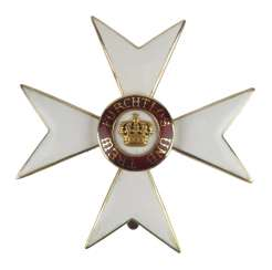 Württemberg: order of the Württemberg crown, cross of honour (1892-1918).