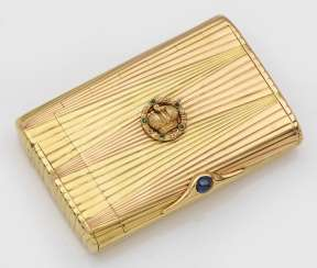 High quality Fabergé cigarette case