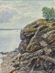 Summer landscape at the Oslofjord