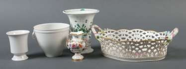 Vintage Tischzier Meissen and KPM Berlin