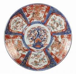 Large plate with Imari decor Japan
