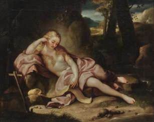 Anton Raphael Mengs, nach, Hl. Mary Magdalene abusive