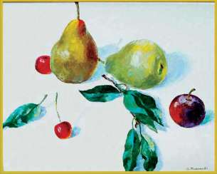 fruits on white 2
