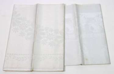 2 Damask Table Cloths