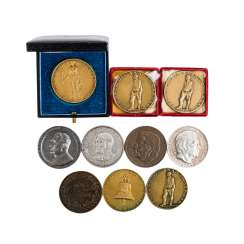 Set of 10 medals, Weimar Republic/Germany 1933-1945 -