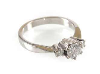 Diamond Ring 750 Wg, Medium