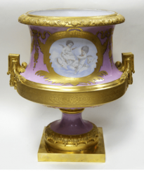 Vase with cupids