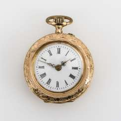 Golden ladies pocket watch