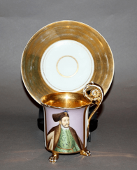 Germany, Royal porcelain manufactory (KPM), 1847 - 1849 gg