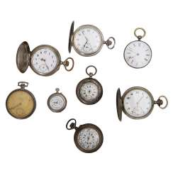 Mixed Lot Of Pocket Watches,