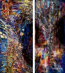 Diptych: the SPACE INSIDE. THE SEARCH FOR HARMONY