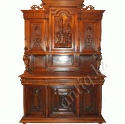 Carved French sideboard