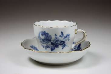Mocha Cup with Bottom, staatl. Meissen