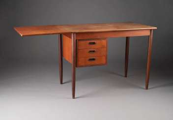 A FOLD-OUT DESK. Execution: Finland, Asko Export, 1960s/1970s