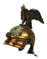 Prussia: helmet M1867 for teams in the Regiment Garde du Corps.