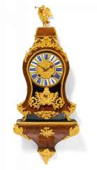 Pendulum clock on console Louis XV