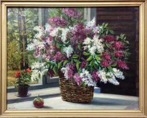 "A. Gamow ""lilacs in the window,"" 1994."
