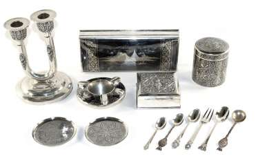Siam silver objects