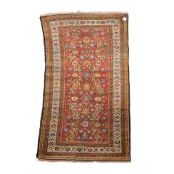 Orient carpet. MALAYER/IRAN, 20. Century, approx. 206x110 cm.