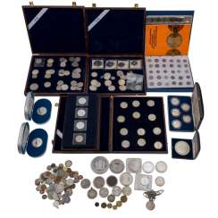 Silver solder with, among other things, Panama 20 Balboas 1973,