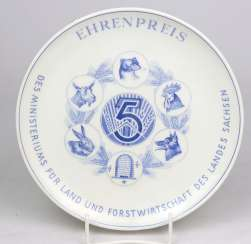 Meissen Prize Of Honour Plate