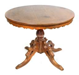 Soft wood table 1880