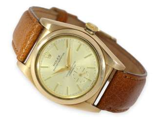 Watch: rare red gold Rolex Bubble Back Ref. 3130, around 1946/47