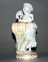 Meissen, Germany, late XIX century, model 1778