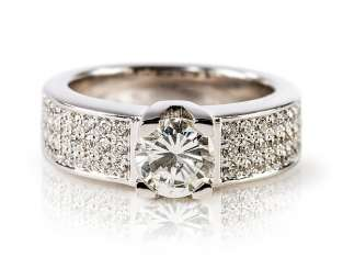 Ladies ring with brilliant-solitaire,