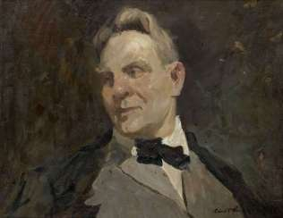Portrait of Feodor Chaliapin, signed and dated 1928.