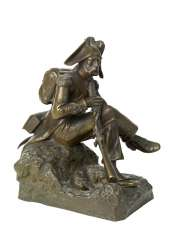 A Seated Grenadier