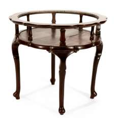 Round Table, Hard Wood, Without