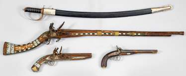 Four Decoration Weapons