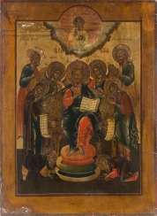 LARGE-FORMAT ICON WITH EXTENDED DEESIS Russia