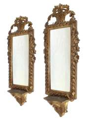 France, pair of console mirror