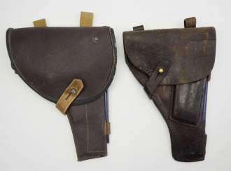 Soviet Union: holster - 2 copies. Each leather or synthetic leather