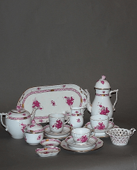 Hungary, Herend, 1960 - 1970 - ies, porcelain, décor