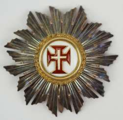 Portugal: Military Order Of Christ, 3. Model (from 1918), Comtur star.