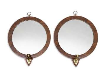 A Pair Of Mirrors. France, 19. Century