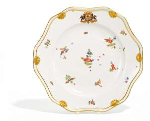 Dinner plate from the Service for Heinrich von Podewils