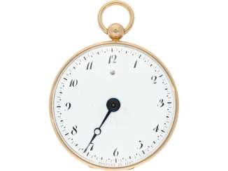 Pocket watch: a Museum, Breguet Souscription with secret signature, No. 1474/913, sold to Freres Chaudoirs on 1.1.1805