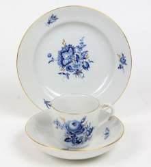 Meissen Coffee And Cake *Blue Flower*