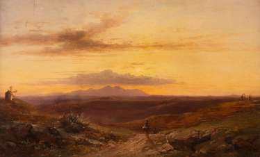 IN THE CINTRAGE MOUNTAINS NEAR LISBON, 1859