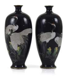 Pair Of CloisonneVases With