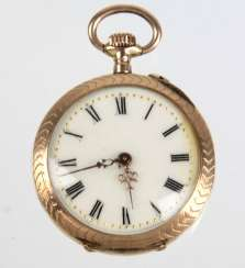 Art Nouveau Ladies Pocket Watch - Yellow Gold 333